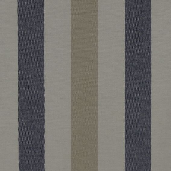 Verandah Stripe Col. Blue-Tan