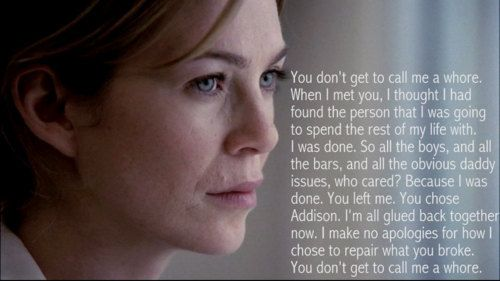 One of my favorite Grey's Anatomy moments