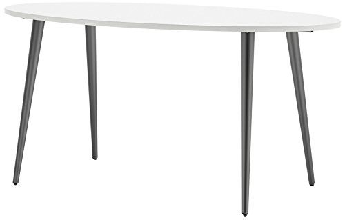 Midcentury Modern Tvilum 753974949 Diana Oval Dining Table