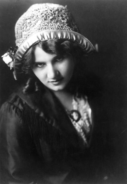 """Florence Lawrence (1890 - 1938) was the first movie star. At the height of her fame in the 1910s, she was known as """"The Biograph Girl"""", """"The Imp Girl"""", and """"The Girl of a Thousand Faces"""". She appeared in almost 300 films for various motion picture companies."""
