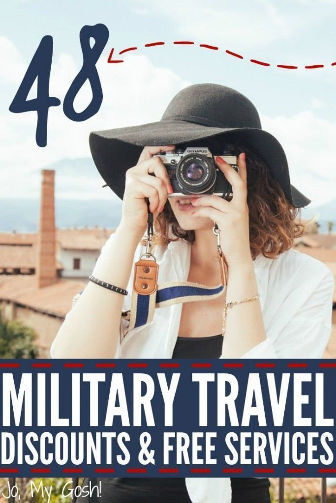 Tons of money-saving tips and discounts for  travel and vacations for military families!