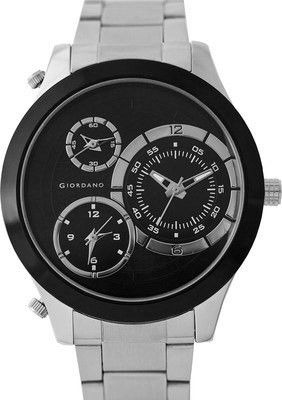 Buy #Giordano 60061 DTMM IPS Black Analog Wrist #Watch For #Men from Flipkart #India at best price, http://bit.ly/1HGUN6Y
