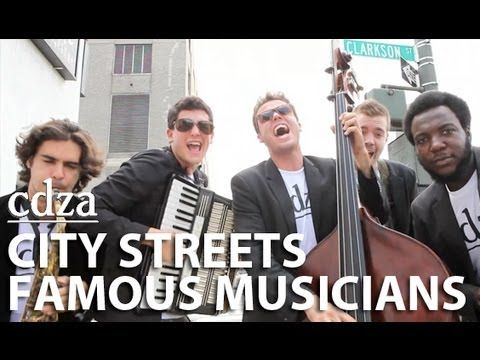 ▶ City Streets, Famous Musicians | cdza Opus No. 11 - YouTube