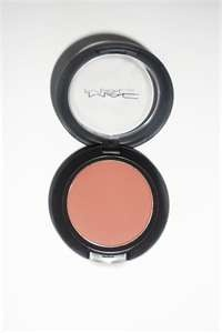 MAC - peaches (Blush) Best blush for olive tone skin.
