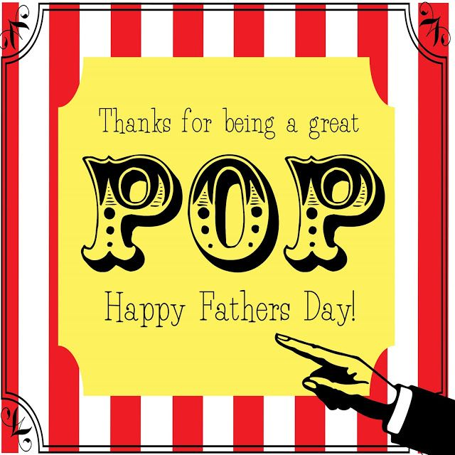 Free Printable Fathers Day Popcorn Wrapper Just B Cause
