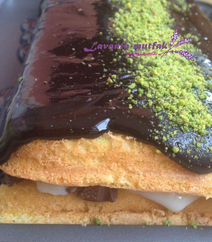 Fındıklı Bol Çikolatalı Pasta