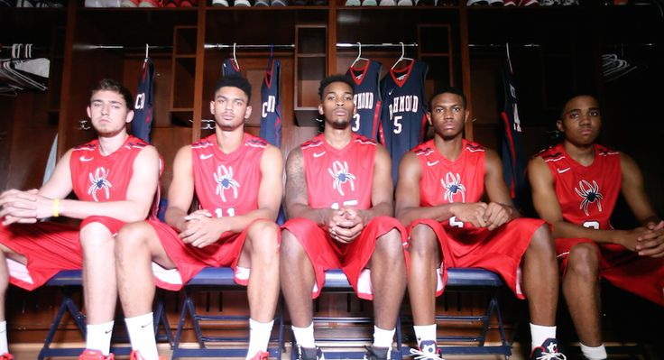 Here's a sneak preview from today's intro video shoot for Richmond men's basketball. #OneRichmond #UnitedInRed
