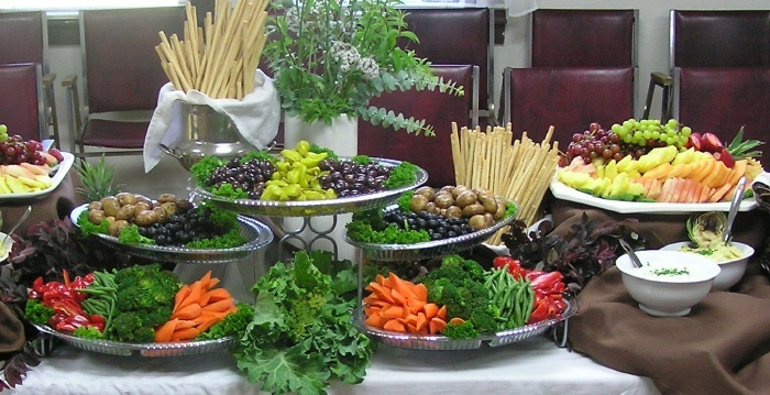 Receptions Food Displays And Prime Time On Pinterest: Appetizer Display