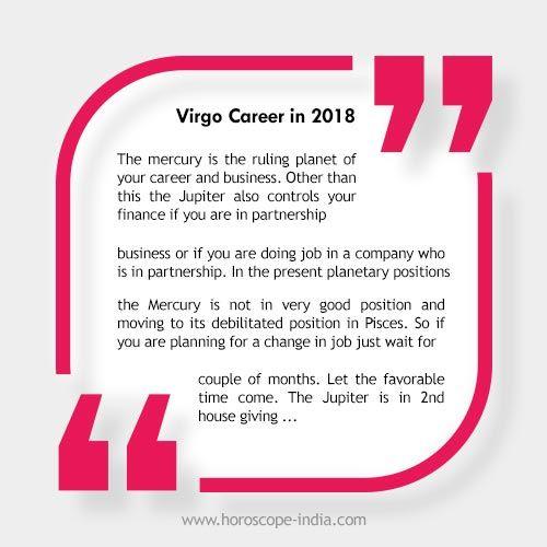 Ammco bus : Daily horoscope virgo career