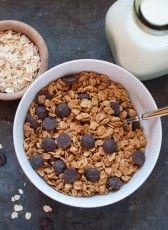 peanut butter chocolate chip granola - Marin Mama Cooks