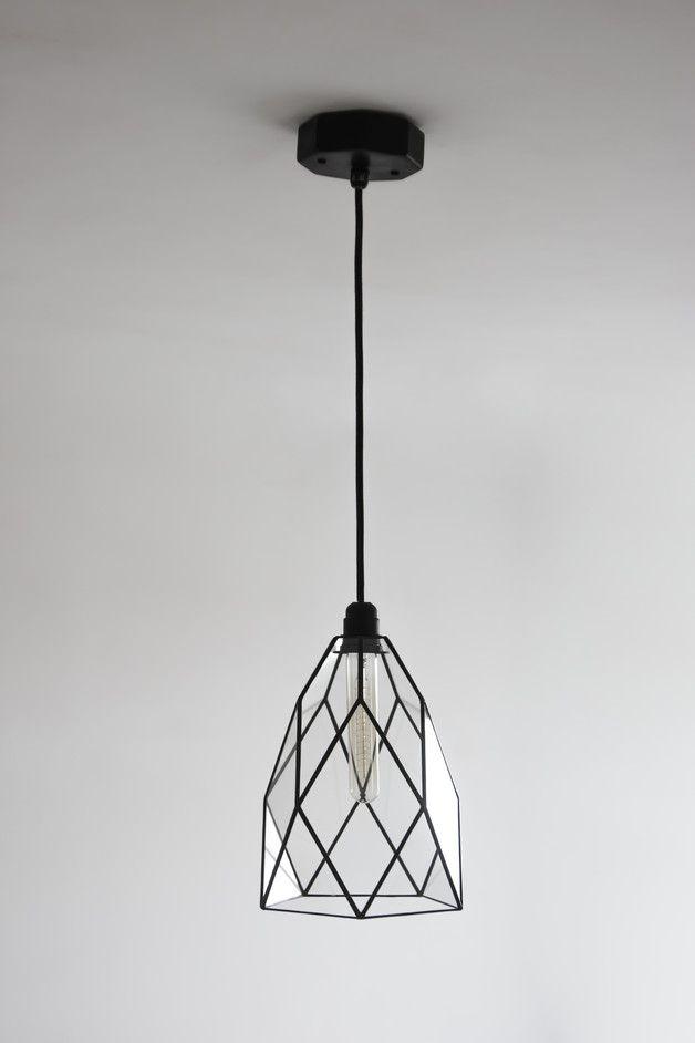 Cafe Klassik Geometrisch Glas Kronleuchter