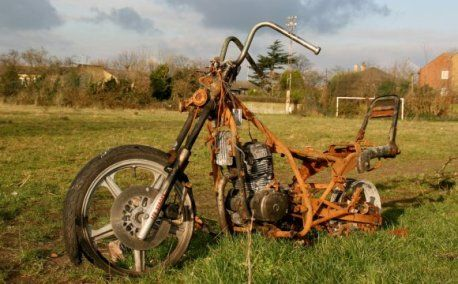 We also buy junk motorcycle for cash.