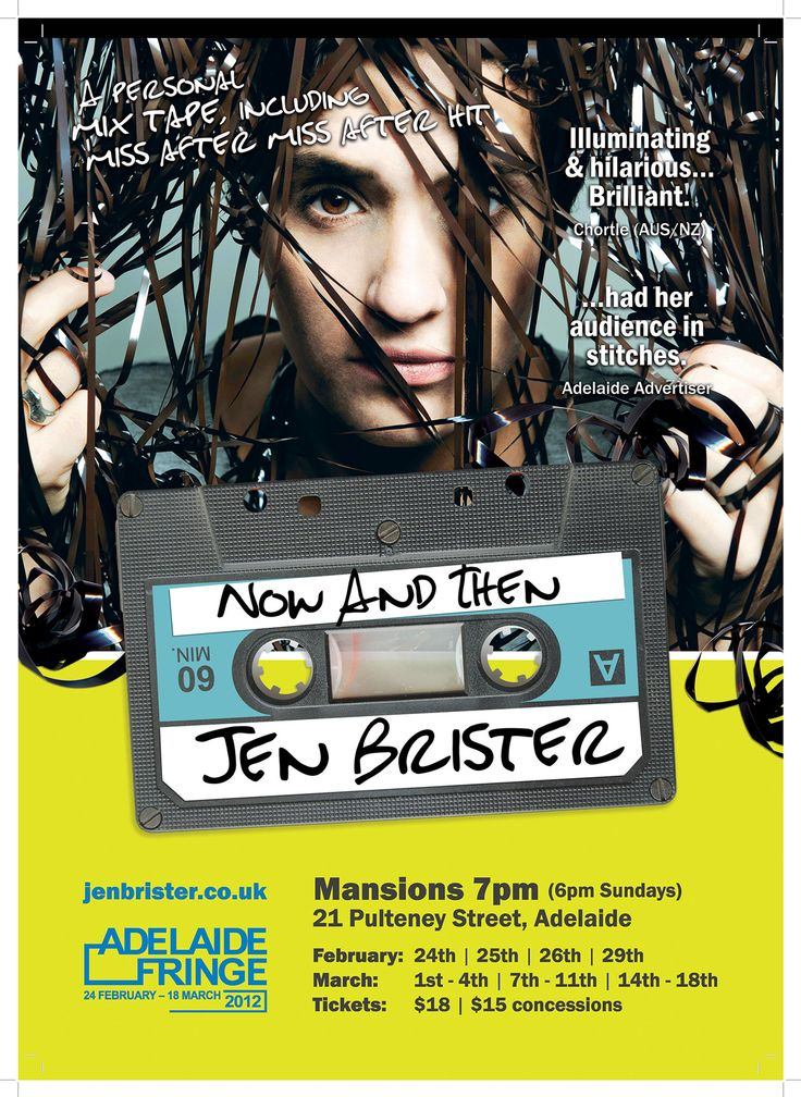 jen brister show.... flyers and posters printed...
