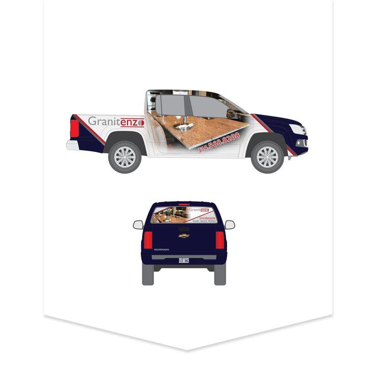 Habillage de voiture pour Granitenzo