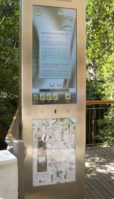 Do you know that ... almost 9 years ago Partteam develop outdoor kiosk using  Zytronic touchglass ?