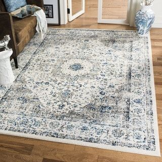 Shop for Safavieh Evoke Vintage Oriental Grey / Ivory Distressed Rug (8' x 10'). Get free shipping at Overstock.com - Your Online Home Decor Outlet Store! Get 5% in rewards with Club O! - 18054265