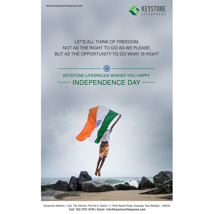 Keystone Lifespaces wishes you all a very Happy Independence Day #IndependenceDay2017 #70thIndependence #Celebration #Occasion