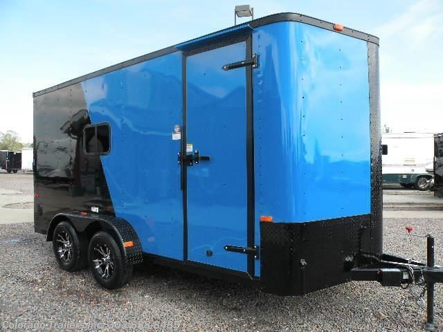 New 2017 Cargo Craft Elite V 7x16 Enclosed Cargo Trailer For Sale by Colorado Trailers, Inc. available in Castle Rock, Colorado