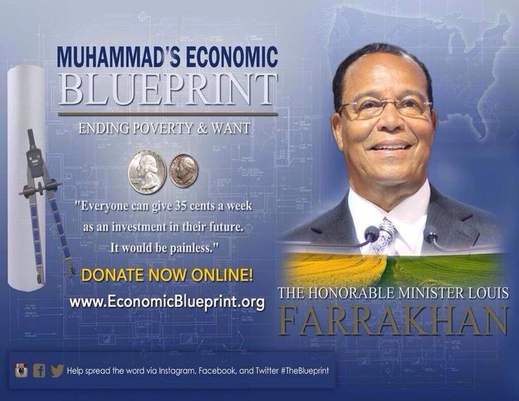 Support Muhammad's Economic Blueprint Today ! Invest in your future!    http://www.economicblueprint.org