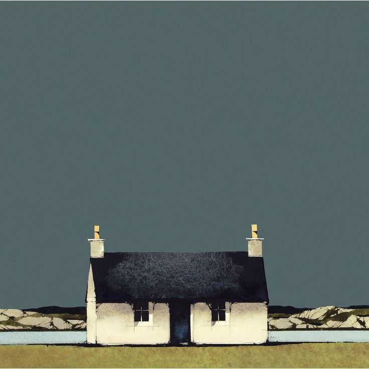 Fionnphort, Mull - Ron Lawson (Signed Limited Edition Giclee on Paper)