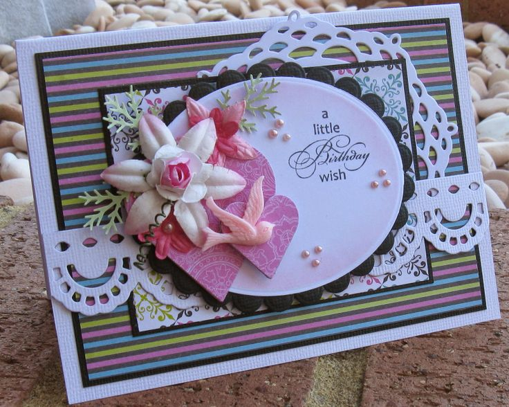 Couture Creations: a little Birthday wish by Jo Piccirilli | #couturecreationsaus #nestingdies #ornamentallacedies #cards #birthday #damaskdelightpaperpad #hearts