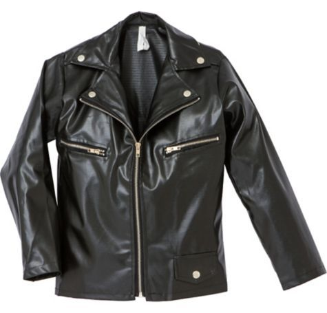 Studded Greaser Jacket for Boys - Party City