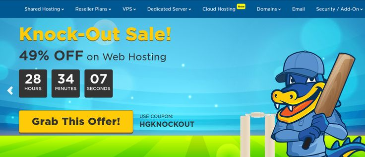 Hostgator Offer Avail flat 49% Off on Shared, Reseller, Cloud & VPS Hosting plans. Limite time offer. Hurry! http://www.updatedreviews.in/hosting-coupon/hostgator-india