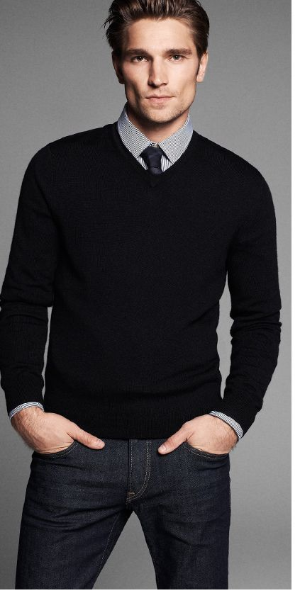 175 best Keep it Casual - Sweater & Tie images on Pinterest | Men ...