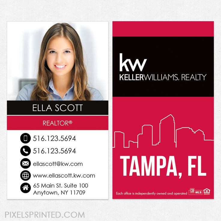 The 25+ best Keller williams business cards ideas on Pinterest ...