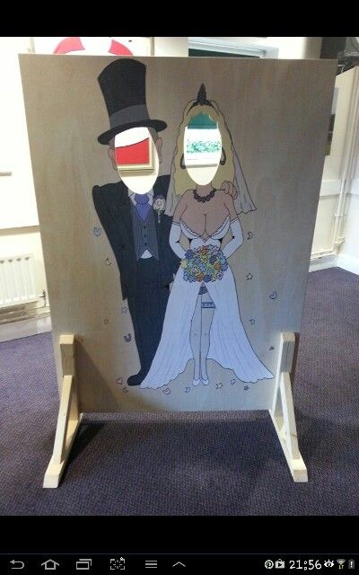 Check out my face in hole boards avaliable for hire through luv events  www.luvevents.co.uk