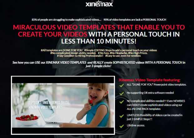 Xinemax Video Templates Pro By Arif Chandra Review & Bonus  Xinemax Video Templates Pro By Arif Chandra Is Best Package Video Templates That Enable You To Create Your Videos With A Personal Touch In Less Than 10 Minutes And No Complicated Design Ability Needed, All You Need To Do Is Edit, Click, And Export.  #Xinemax #videomarketing #VideoTemplate #powerpoint #presentation #marketing