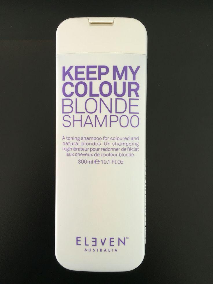 Keep my Colour Blonde Uptown Hair Studio Eleven Stockist