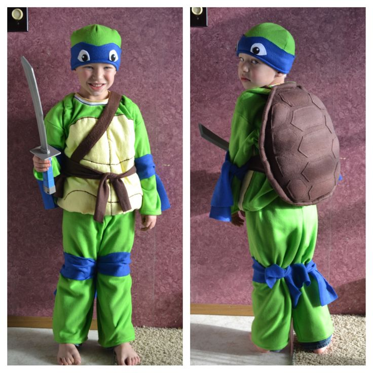 homemade ninja turtle costume  sc 1 st  Pinterest : ninja turtle costume toddler  - Germanpascual.Com