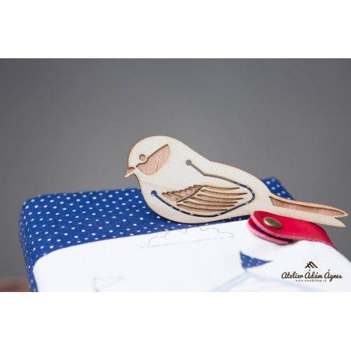 Wooden bookmark - chaffinch #handmadebookmark #enjoyreading