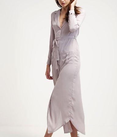 Missguided Sukienka koszulowa długa grey