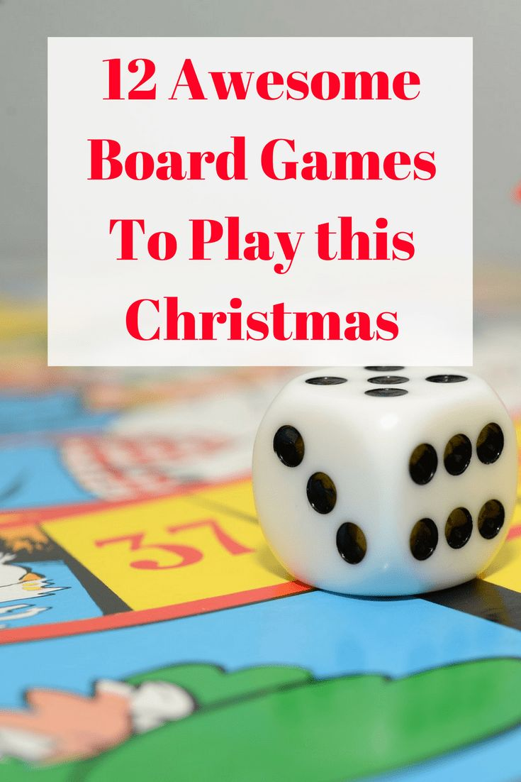 What is Christmas without a few Board Games around the table with the Family? Here are my top picks for festive fun this year.