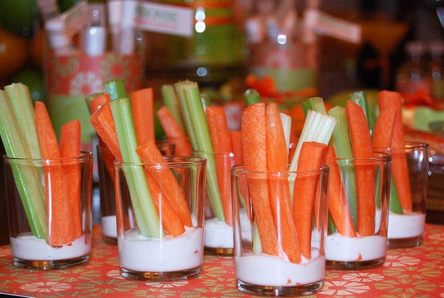the colors of Arbonne..... celery and carrots