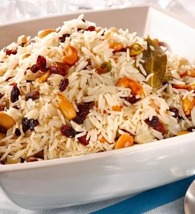 Ensalada de arroz con pi ones y pasas recetas pinterest - Ensalada de arroz con atun ...