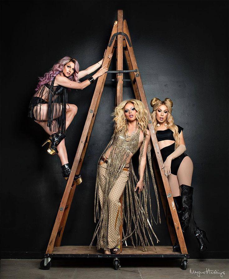 nickirosetta ✧ pinterest AAA Girls  Courtney Act  Willam Belli  Alaska Thunderfuck