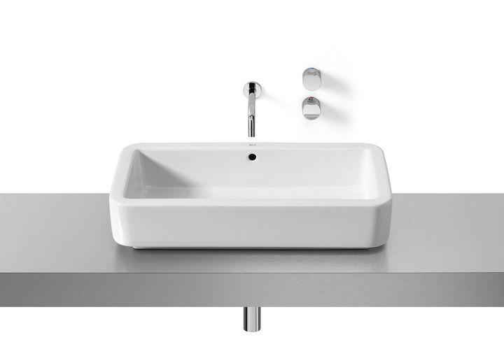 Lavabo de porcelana de sobre encimera | Lavabos sobre encimera | Lavabos | Productos | Roca
