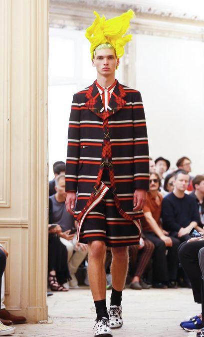 Vaclav for Comme des Garcons in Paris FW :-)