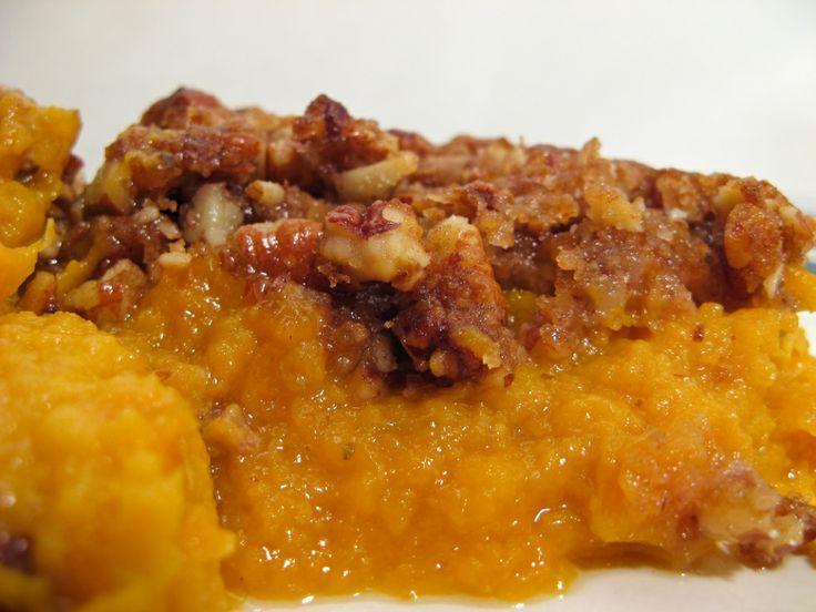 Sweet Potato Casserole–Dessert in Disguise: Sweet Potato Casserole, Potatoes Recipes, Side Dishes, Crock Pots, Sweet Potatoes Casseroles, Food, Crockpot Recipes, Thanksgiving, Casserole Recipes