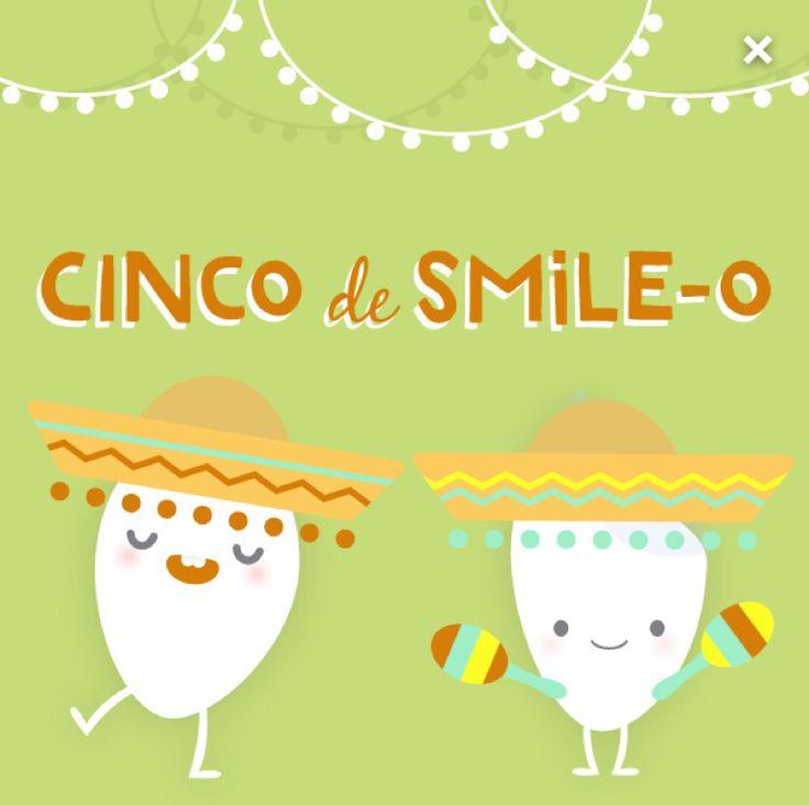Today is CINCO DE SMILE-O!  We're giving away free smiles :) #greenburgpediatricddentistry #cincodemayo #pediatricdentistry