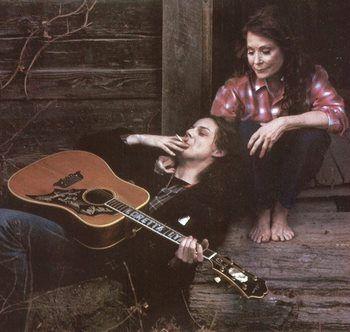 Loretta Lynn and Jack White. I love this