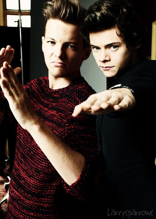 I want to kiss both of them simultaneously, if that's even possible. -H