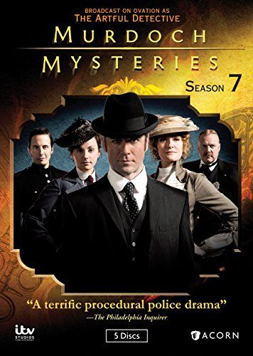 Murdoch Mysteries, Season 7 - even though it's Canadian