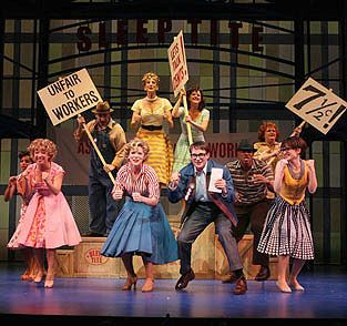 an analysis of the musical the pajama game The pajama game historical context, production history and expert analysis.