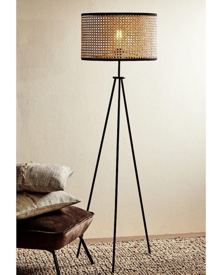 Image Du Produit Lampe Pied Rotin Lampadaire Design Salon Lampe Salon Lampadaire Salon