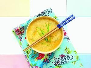 Recette Soupe chinoise à l'œuf battu - Feminin Bio