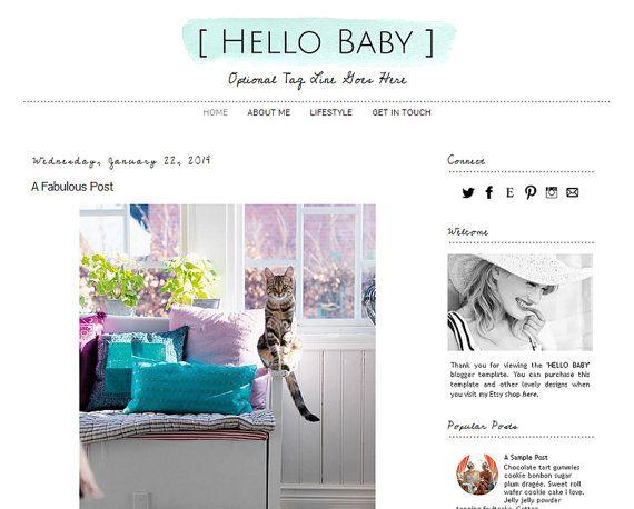 37 best Blog template ideas images on Pinterest   Blogger ...